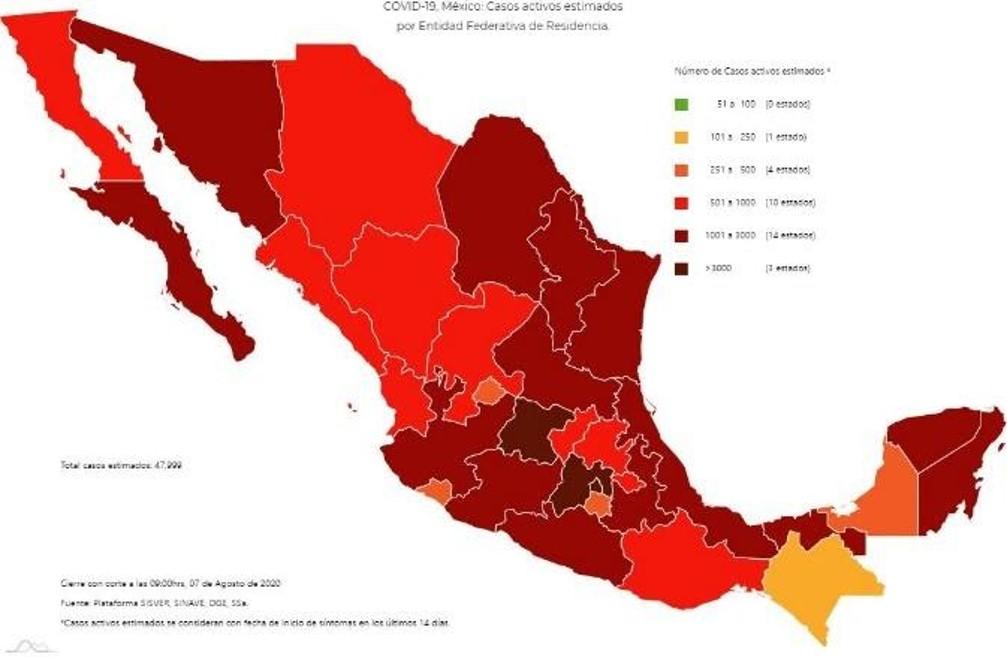 El viernes murieron 819 personas más en México por Covid19: Salud