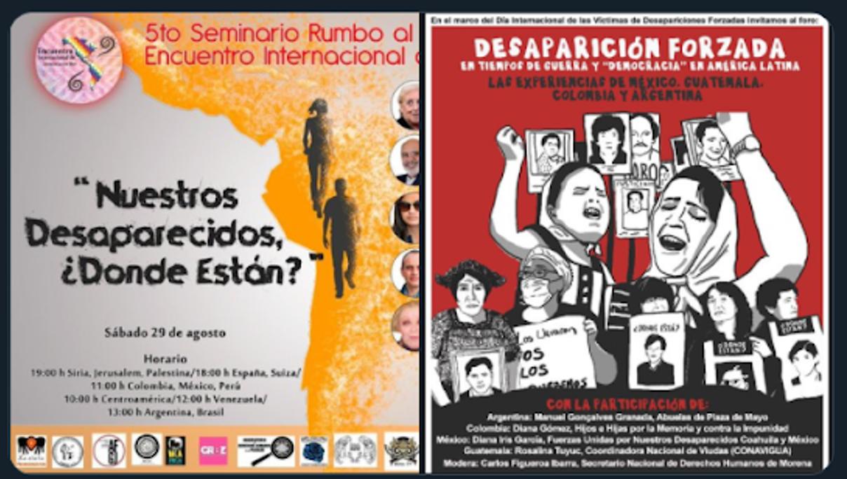 El Secretario de Derechos Humanos de Morena del CEN Carlos Figueroa Ibarra participará en el Día Internacional de las víctimas de la desaparición forzada