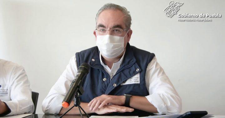 En Puebla hay 243 hospitalizados por Covid19; 25 graves: Martínez García