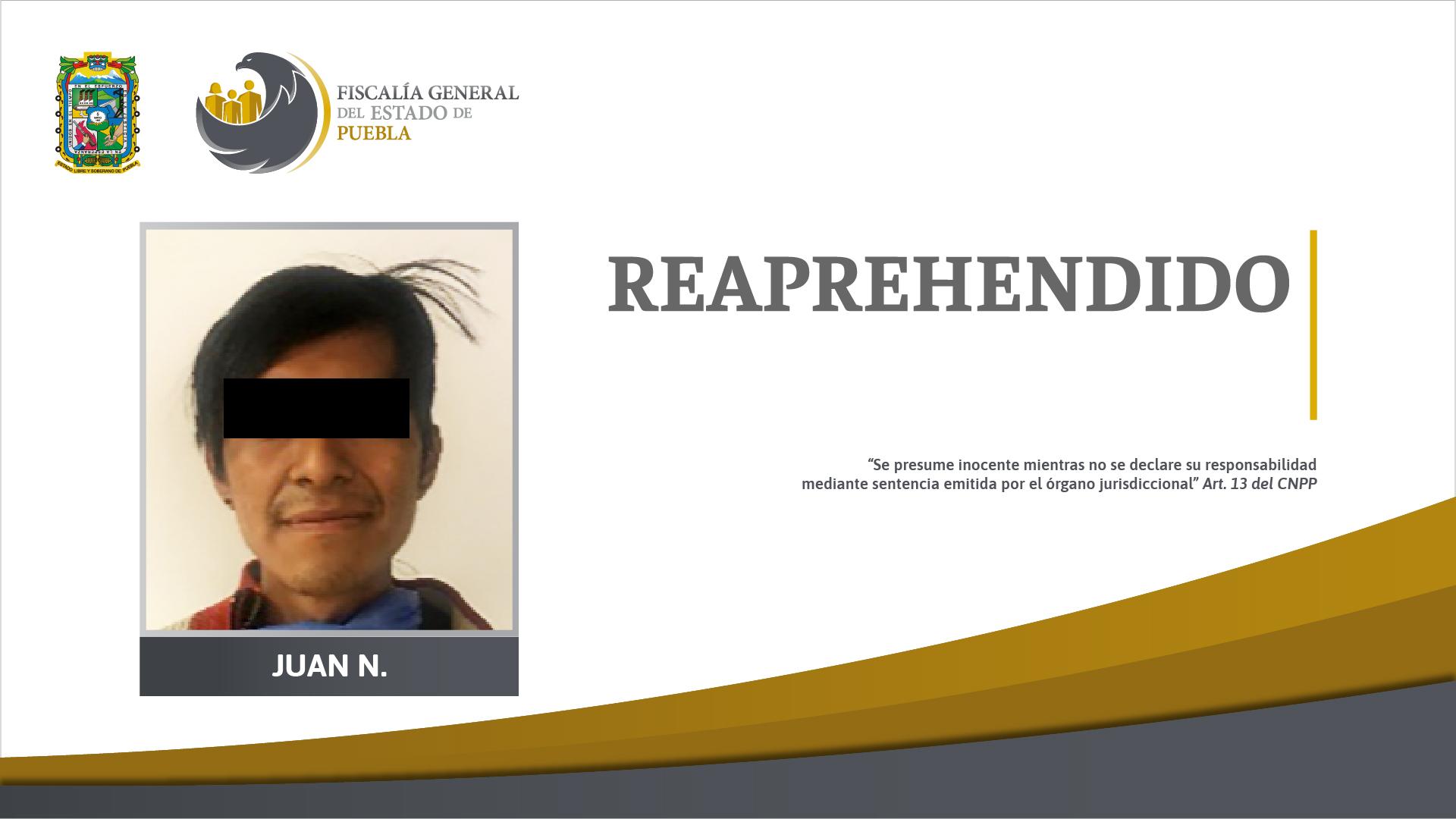"""Fiscalía Puebla reaprehende a """"El Clicha"""" por narcomenudeo"""