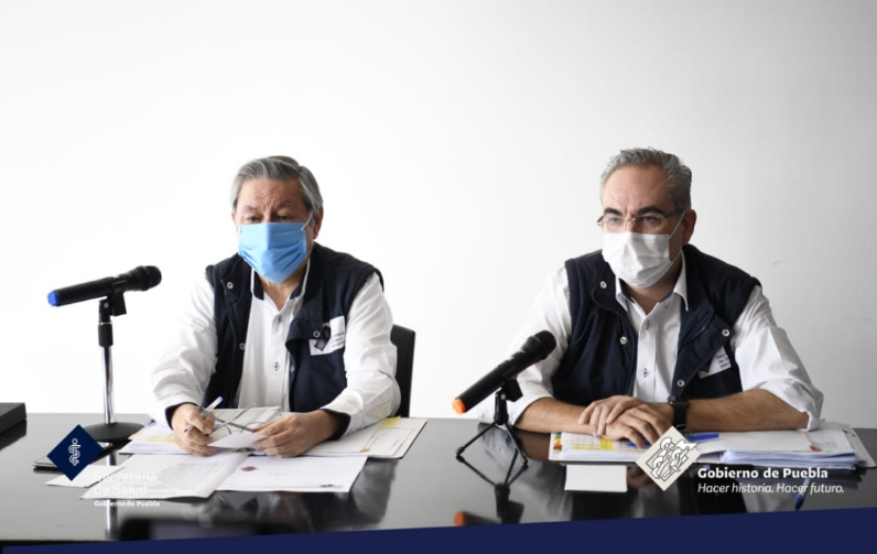 Video desde Puebla: La entidad rebasó los tres mil muertos por covid-19: Secretaría de Salud
