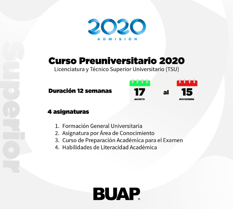 Obligatorio Curso Preuniversitario: BUAP