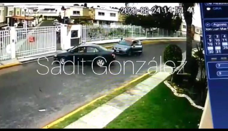 Video desde Puebla: Banda del Bora negro sigue con los asaltos impunes en San Pedro Cholula