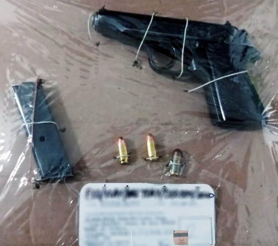La SSC detiene en la Magdalena Tlaltelulco a dos personas con armas de fuego