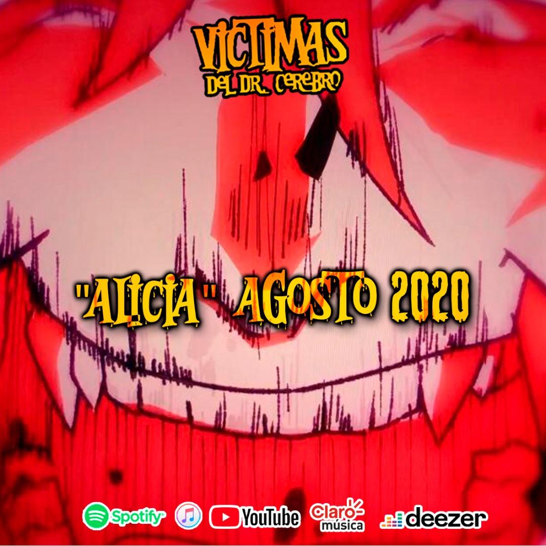 """Víctimas del Dr. Cerebro une esfuerzos con Ales Torres Animations para el video oficial de """"Alicia"""""""