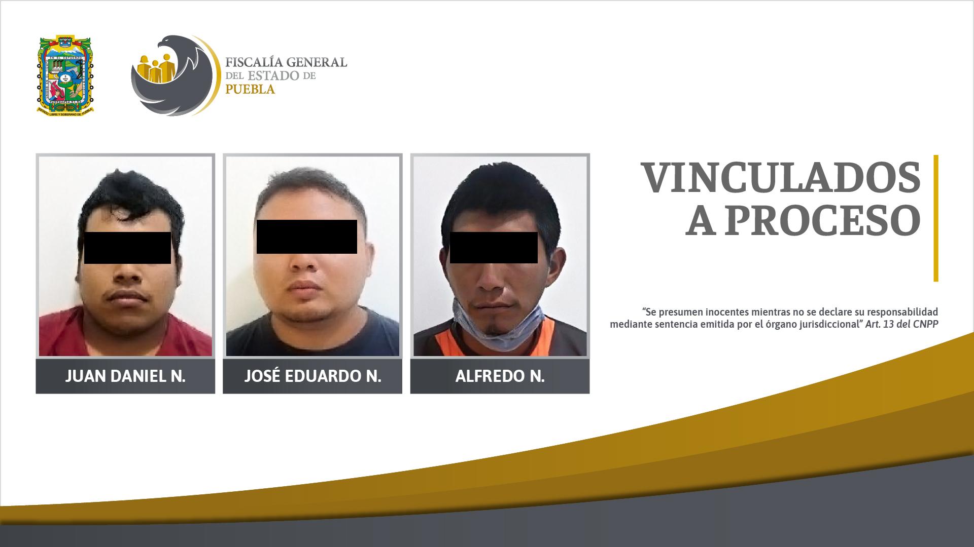 Vinculados a proceso tres hombres detenidos en Lázaro Cárdenas