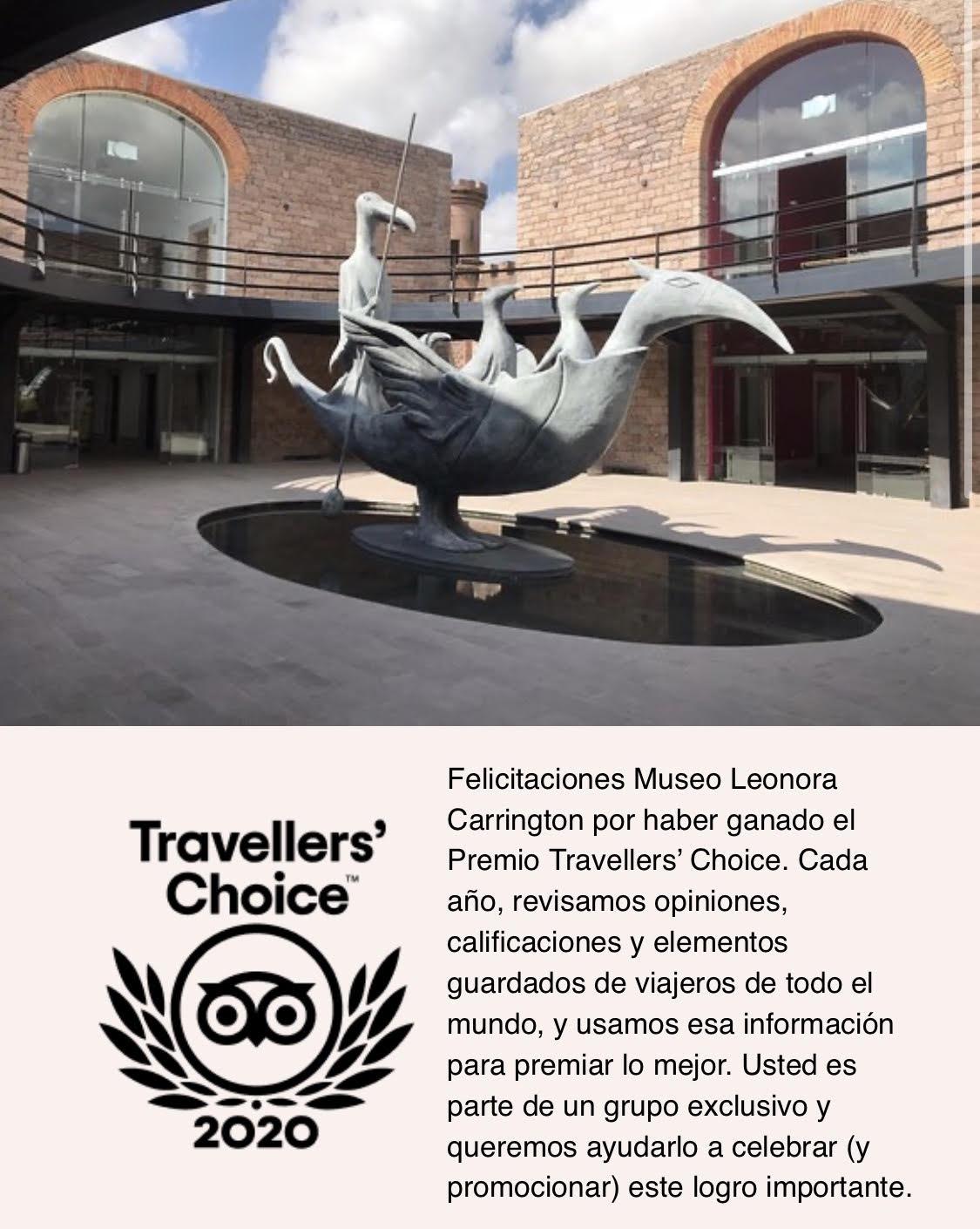 Traveler´s Choice 2020 al Museo Leonora Carrington SLP