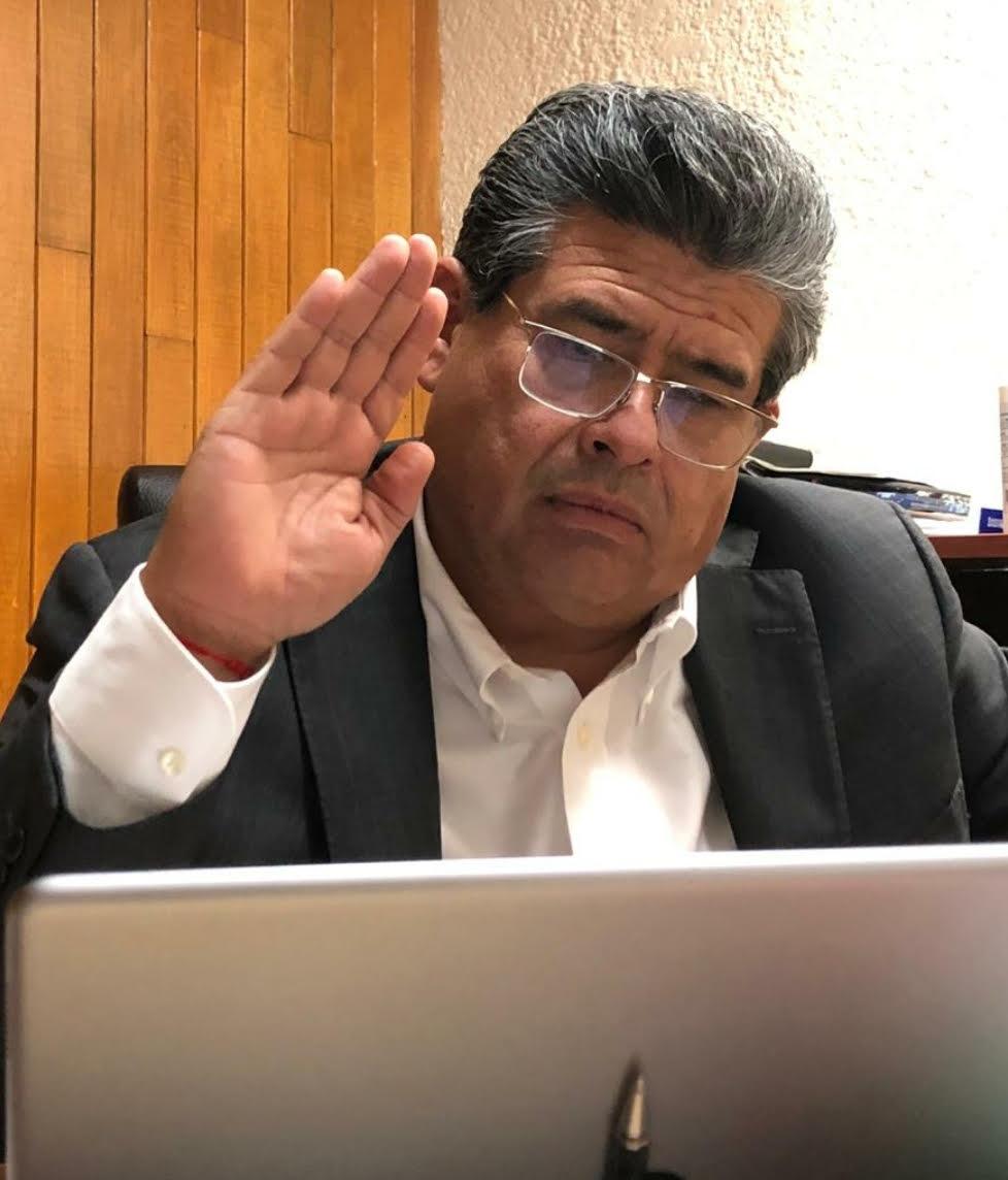 Diputados de Juntos Haremos Historia, encabezados por Gabriel Biestro, niegan bono por riesgo de trabajo a policías ante el COVID-19, acusó Javier Casique