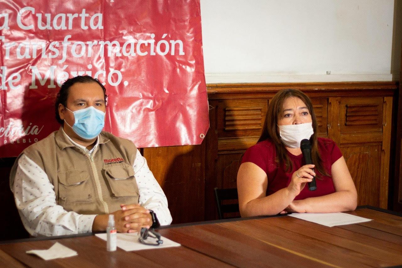 No habrá reparto de candidaturas en Morena: Salazar Vicentillo