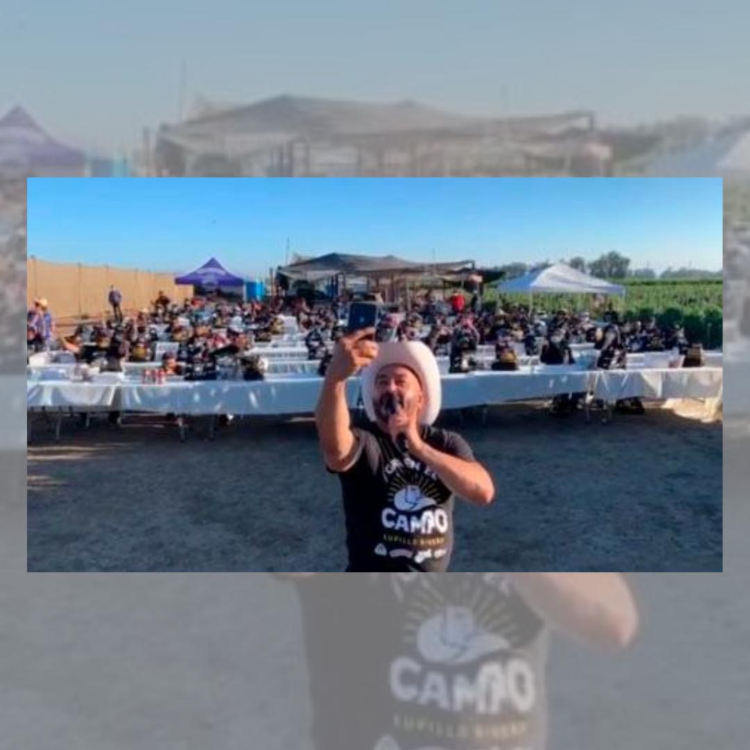 """Lupillo Rivera logra un éxito total con """"Gira en el Rancho"""""""