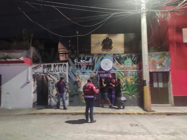 Desde San Andrés Cholula: Protección Civil clausura pulquería por no acatar los decretos estatales