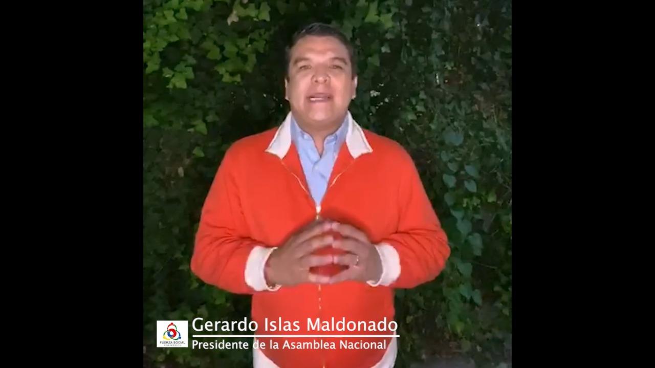 INE quiere obstaculizar el registro de Fuerza Social por México: Gerardo Islas