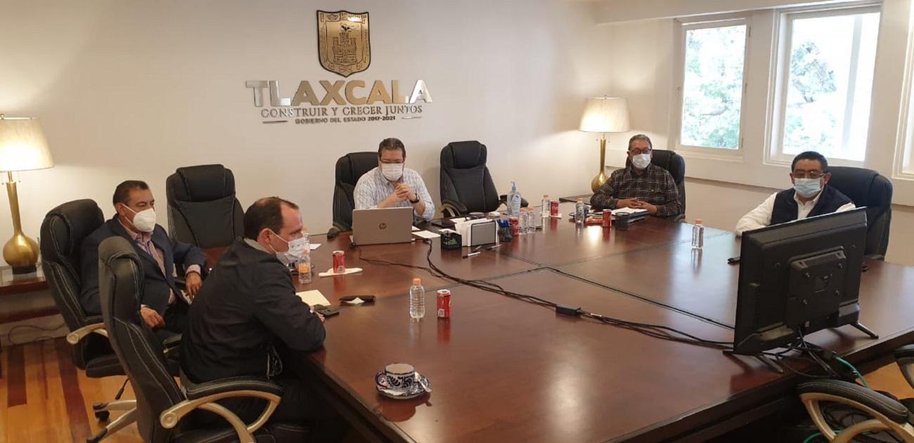 Marco Mena participa en videoconferencia con SEP Federal y Gobernadores de Estados en semáforo amarillo de covid-19