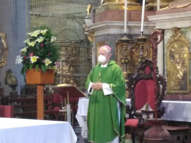 Arzobispo de Puebla hace un llamado a la comunidad católica a orar y a servir al prójimo