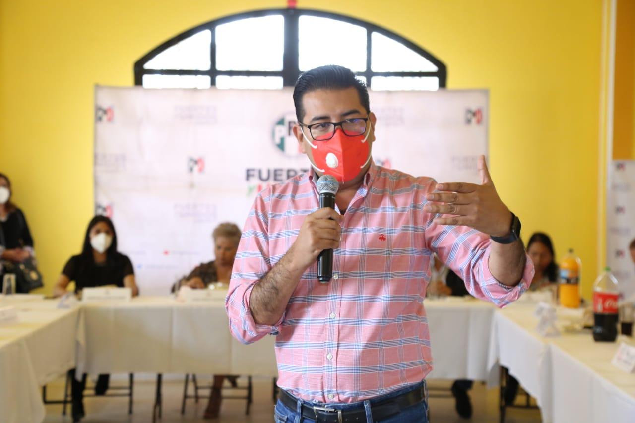 PRI no está cerrado a hacer alianzas con alguna otra fuerza política: Camarillo Medina