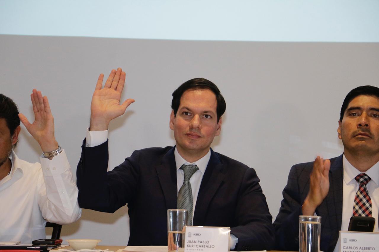 Ajustar el gasto público de Puebla por recorte, solicita el diputado Kuri