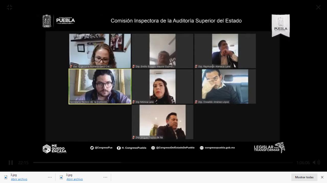 Congreso llama a comparecer a Claudia Rivera Vivanco ante la Comisión Inspectora