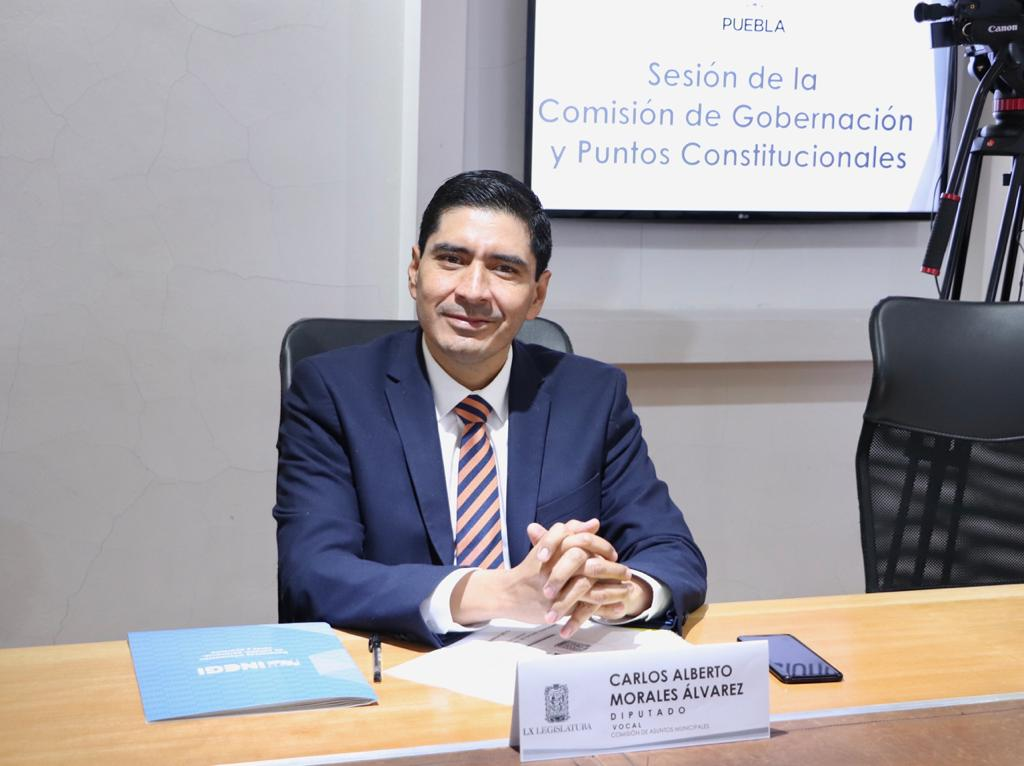 Por falta de quórum, el Congreso local no pide formalmente la destitución del Comisario de Seguridad de San Martín Texmelucan, acusó diputado local