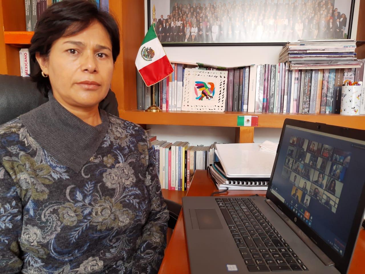 Sin afectaciones por intensas lluvias en la Sierra Norte: Josefina Hernández