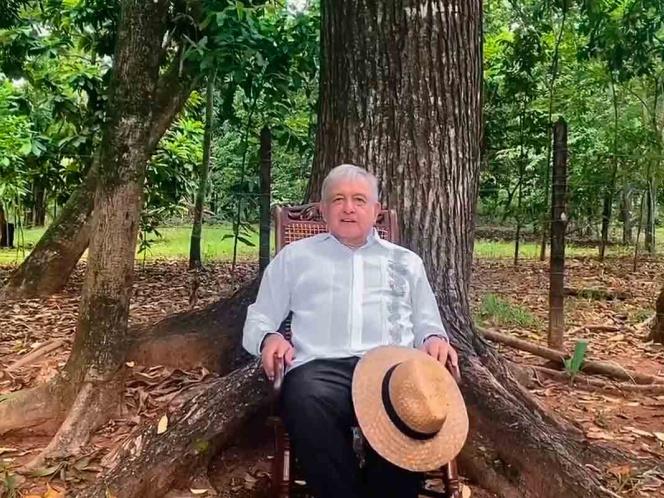 Celebra López Obrador negativa de registro a 'México Libre'