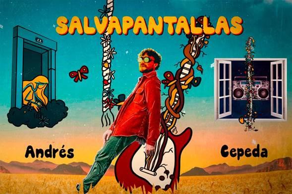 """Andrés Cepeda presentó con un video animado """"Salvapantallas"""" último sencillo de su álbum """"Trece"""""""