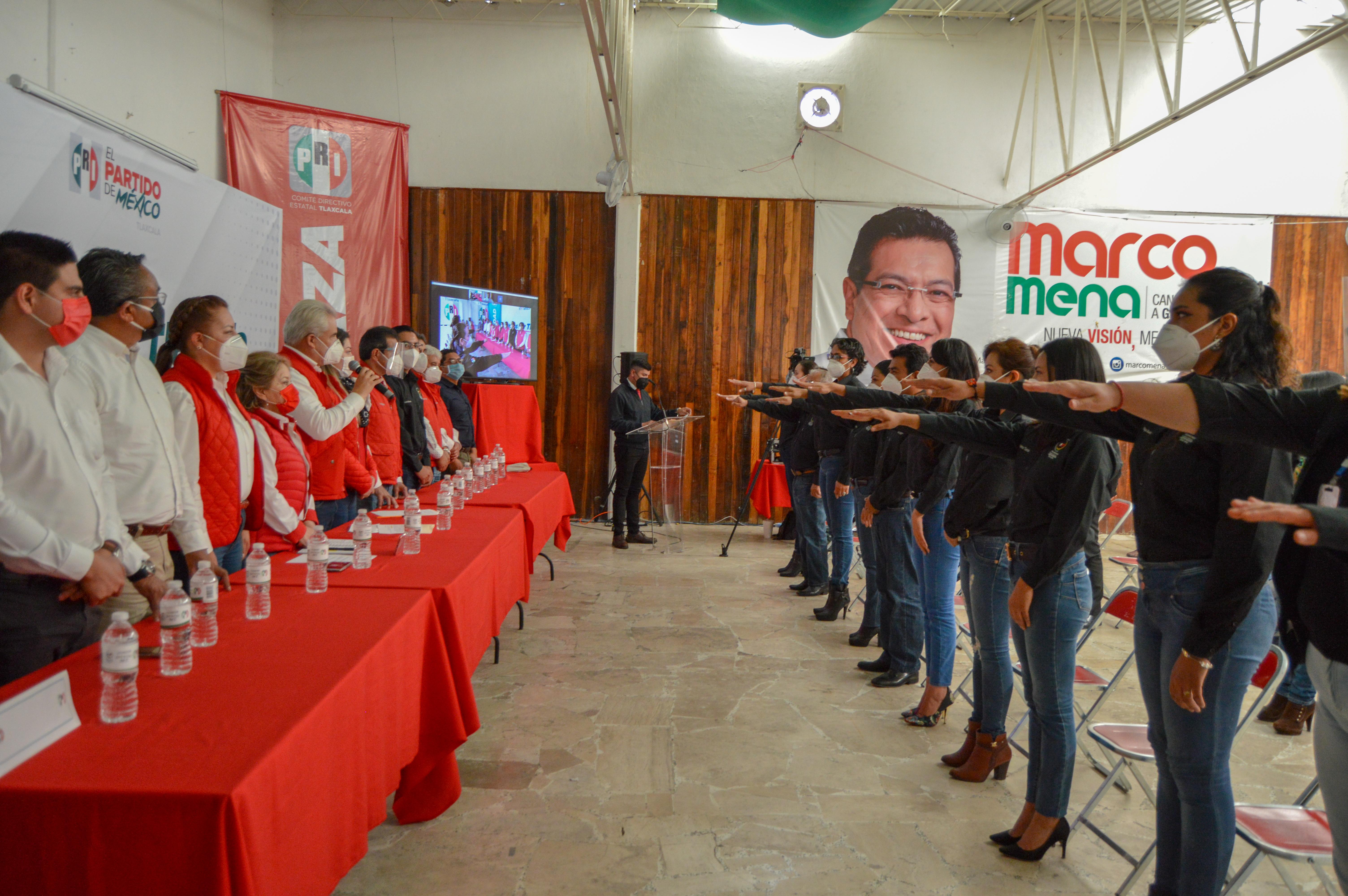 Toma protesta el nuevo Comité Estatal de Movimiento Territorial PRI