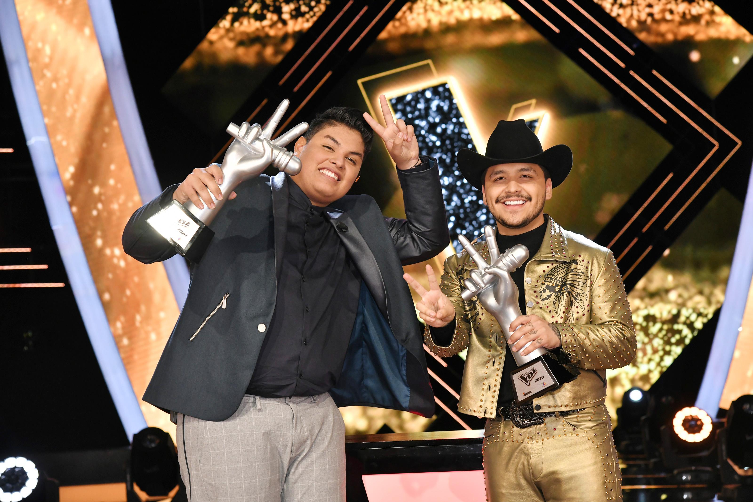 """Fernando Sujo, de 16 años de edad, gana """"La Voz"""" edición 2020"""