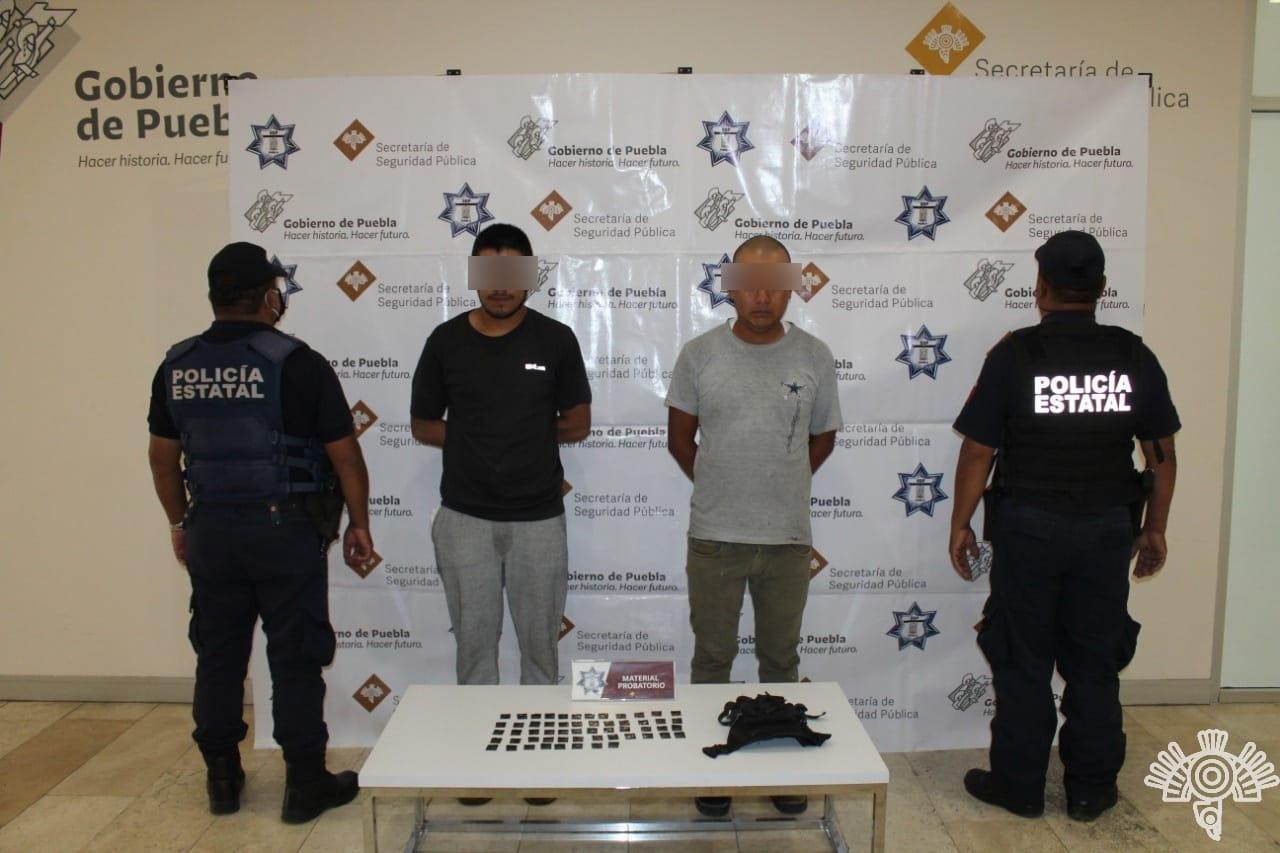 Vendían autopartes robadas y drogas en la 46 poniente