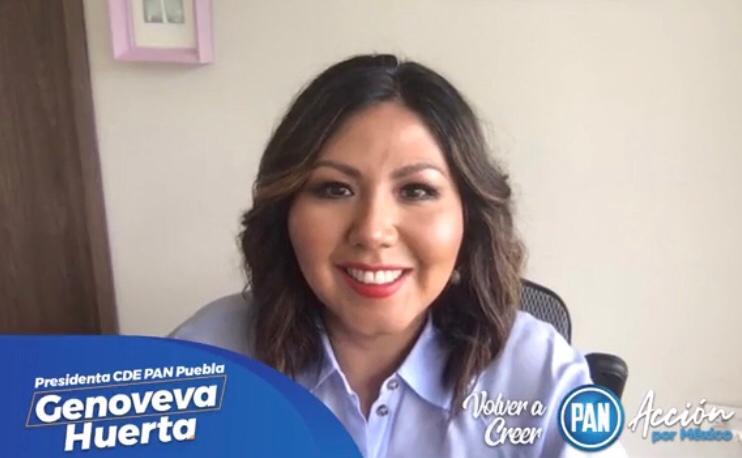 "Claudia Rivera permite ""guerra de moches"" en gobierno municipal: Genoveva  Huerta"
