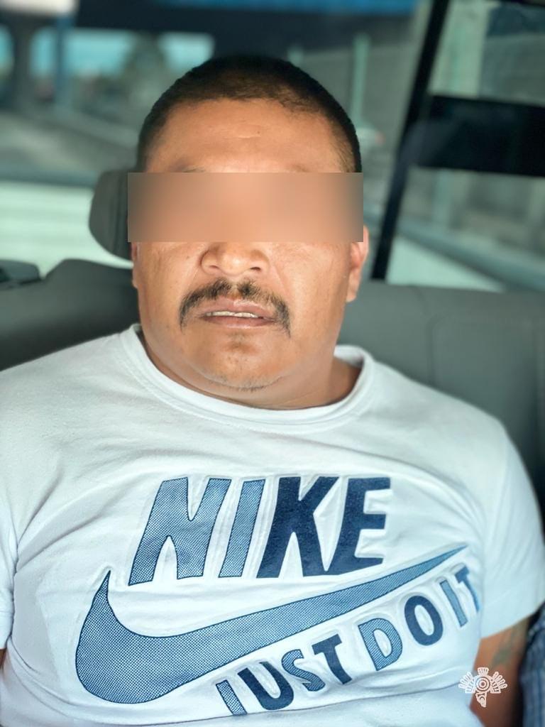 Cae Israel P,  presunto líder de banda dedicada al robo de ferrocarril y transporte de carga en la sierra Negra
