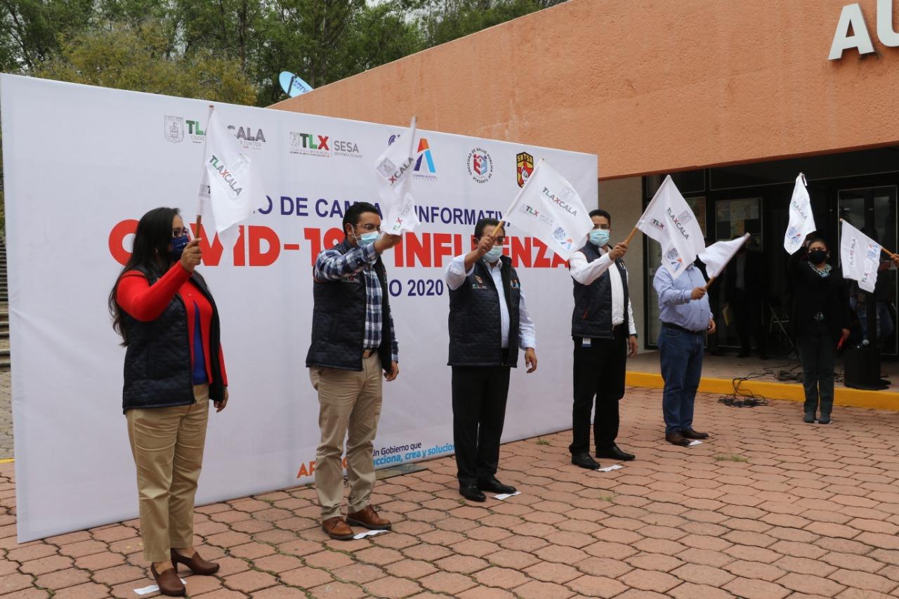 """Inician operaciones """"Brigadas Municipales ante Covid-19″en Apizaco"""