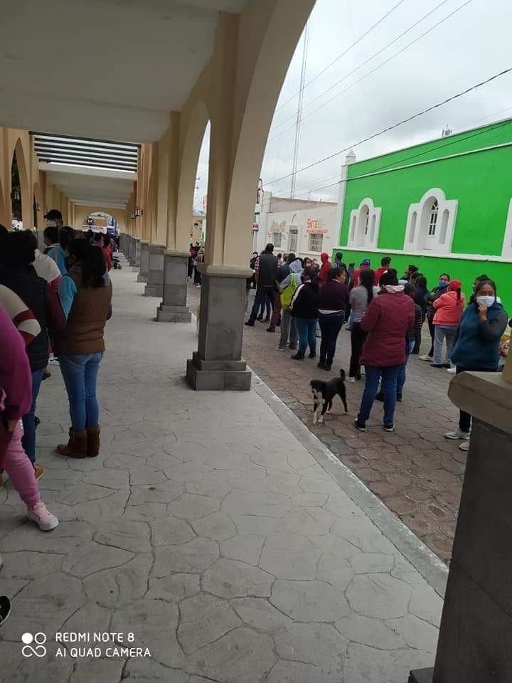 CTM Puebla convocó a evento masivo en San Rafael Lara Grajales para entrega de despensas