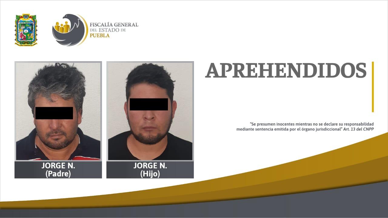 Padre e hijo a la cárcel por matar policías en Chignahuapan: FGE