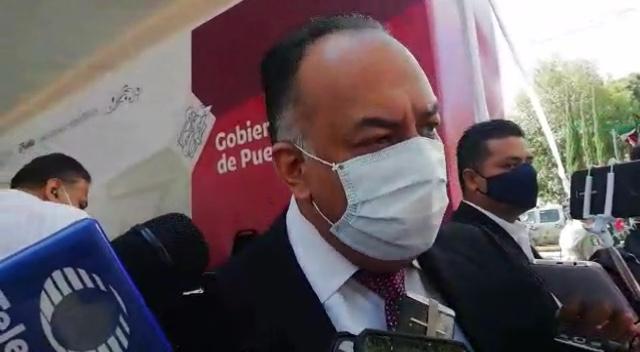 Video desde Puebla: 5 municipios del estado, en peligro por el desbordamiento de ríos, alertó David Méndez