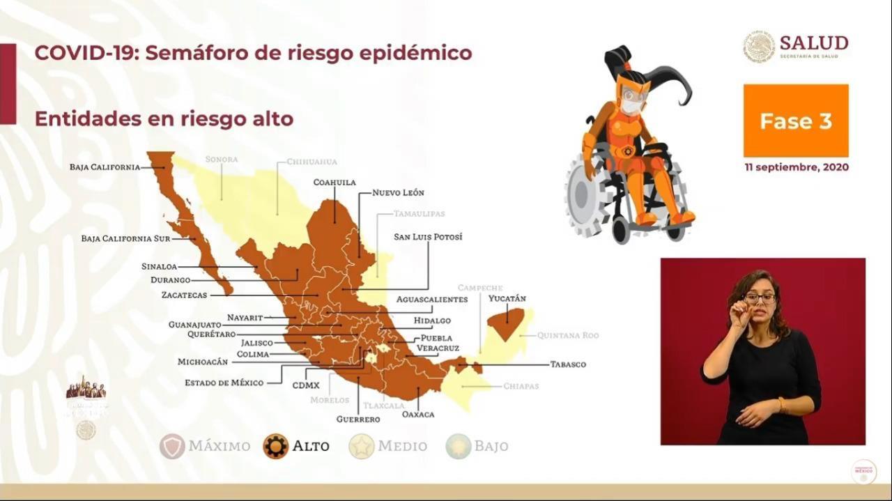 66.3% de los decesos por coronavirus en Puebla, en seis municipios