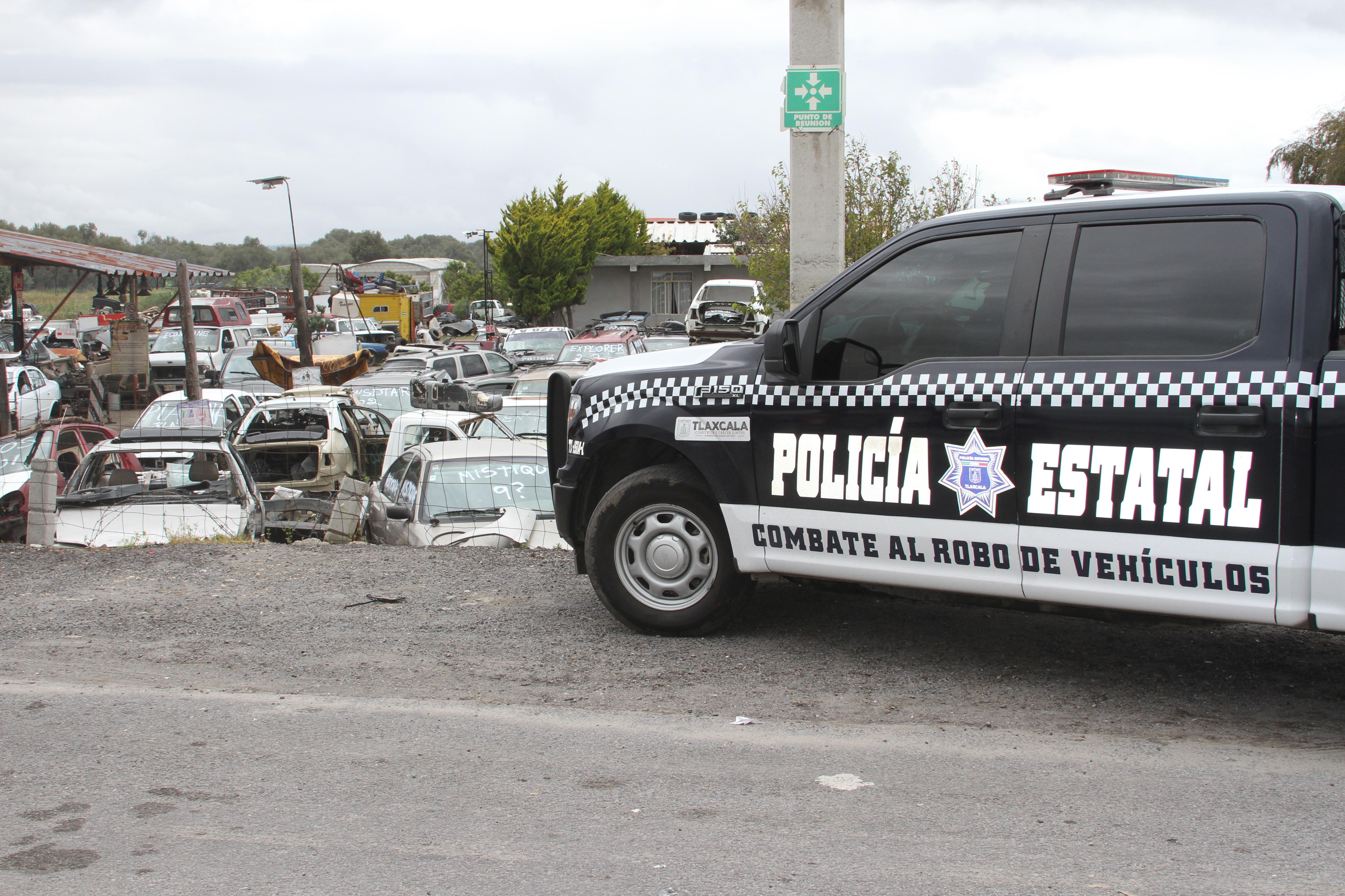 Desde Tlaxcala: Dependencias estatales y federales realizan operativo deshuesadero en Huamantla