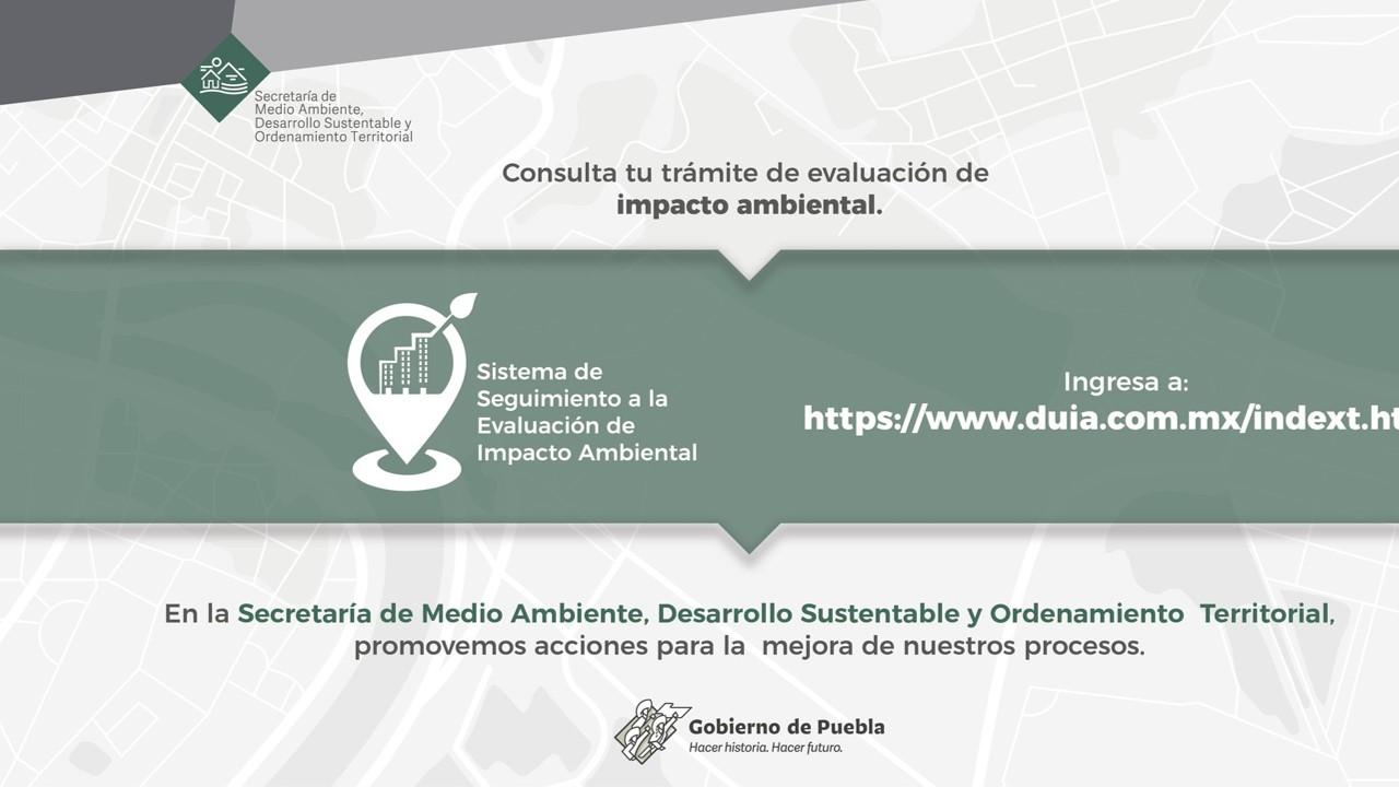 Habilitó SMADSOT plataforma para evaluar impacto ambiental de proyectos