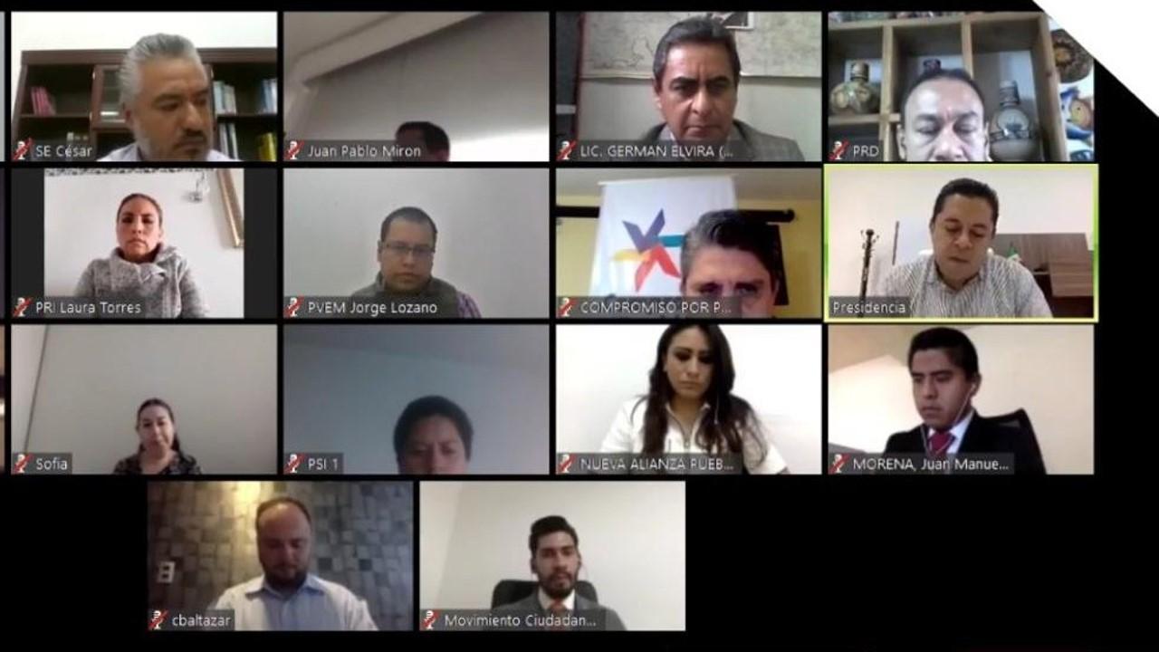 Acredita IEE Puebla al Partido Encuentro Solidario como Instituto Político en Puebla