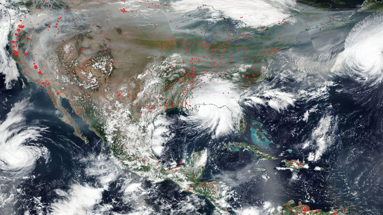 """OMM: El huracán Sally podría causar """"inundaciones catastróficas y mortales"""" en el sur de Estados Unidos"""