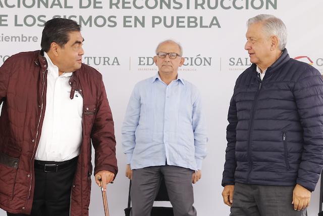 Video desde Puebla: Resalta AMLO trabajo conjunto con el gobierno de Miguel Barbosa