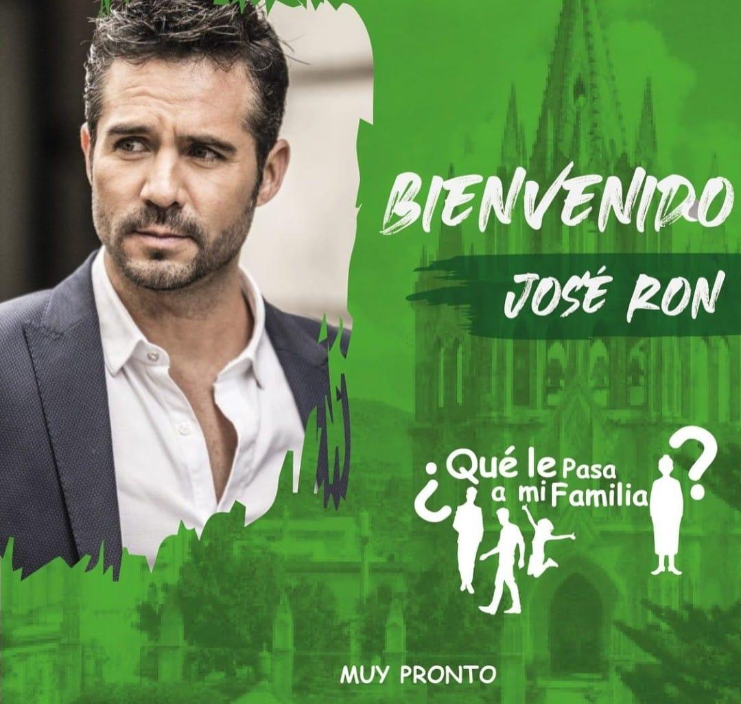 """José Ron protagonizará """"¿Qué le pasa a mi familia?"""", nueva producción de Juan Osorio"""