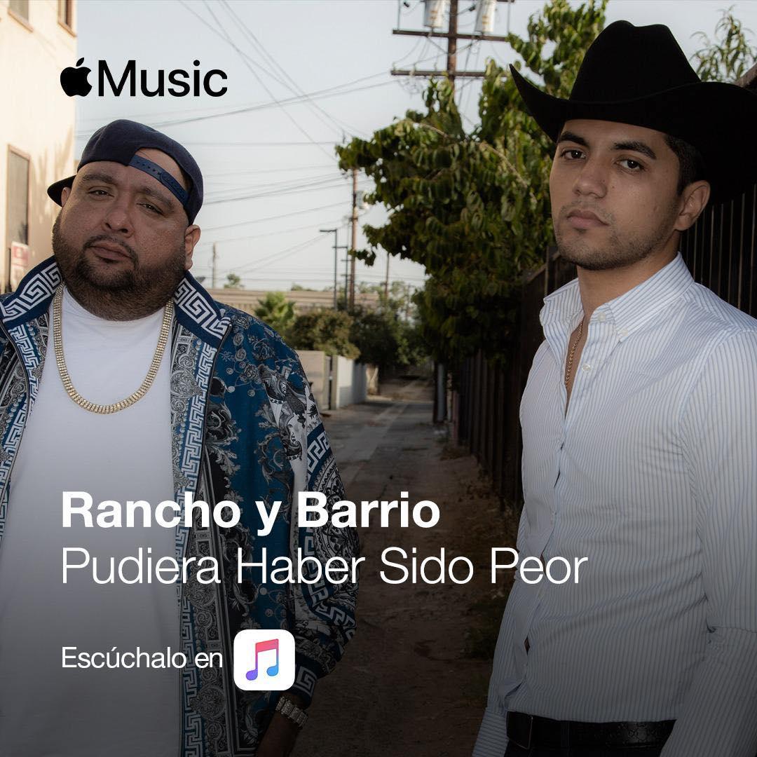 """Rancho y Barrio lanzaron su nuevo sencillo """"Pudiera haber sido peor"""""""