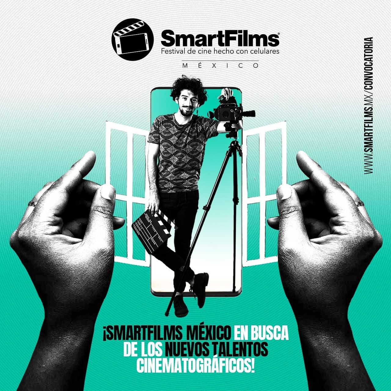 """""""SmartFilms® México"""", Festival de Cine hecho con celulares, cierra su Convocatoria 2020 con las categorías participantes de su tercera edición"""
