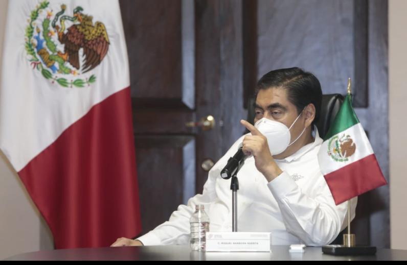 Video desde Puebla: Gobernador Barbosa pidió al ayuntamiento de la capital analizar la reapertura de panteones