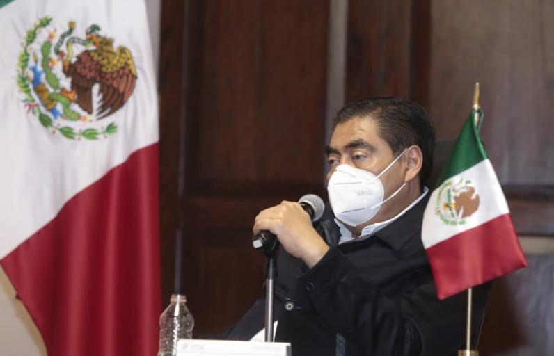 Video desde Puebla: Gobernador Barbosa descartó hablar con AMLO del presupuesto estatal en su próxima visita
