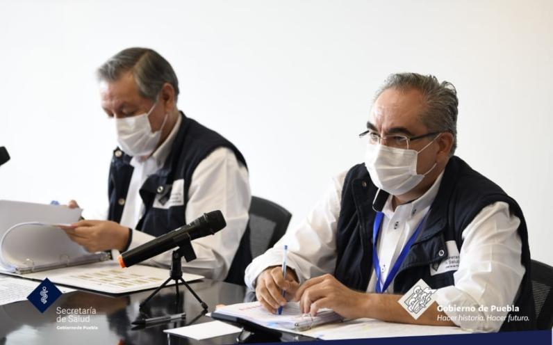 Video desde Puebla: Hay 451 poblanos hospitalizados por coronavirus, informó la secretaría de Salud