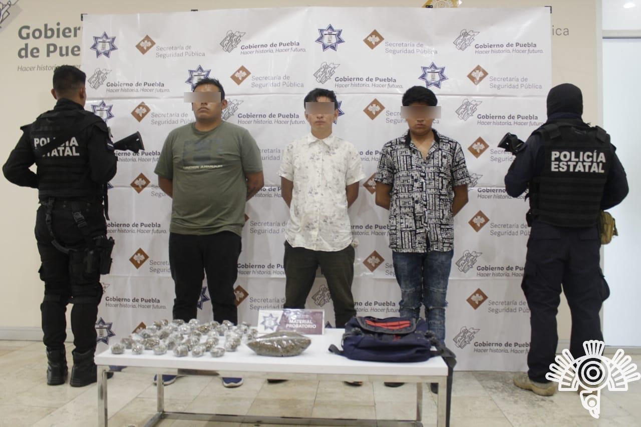 Captura SSP a presuntos integrantes de banda dedicada al robo de transporte y negocios