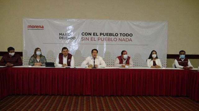 Morena refrenda unidad partidista con diputados y senadores