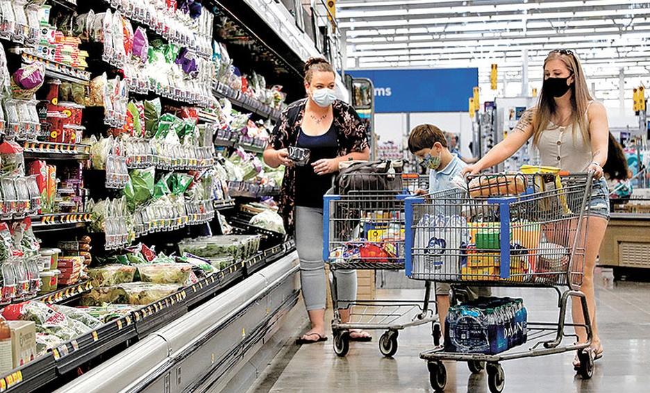 El Indicador Mensual del Consumo Privado en el Mercado Interior (IMCPMI) registró un aumento real de 5.5%