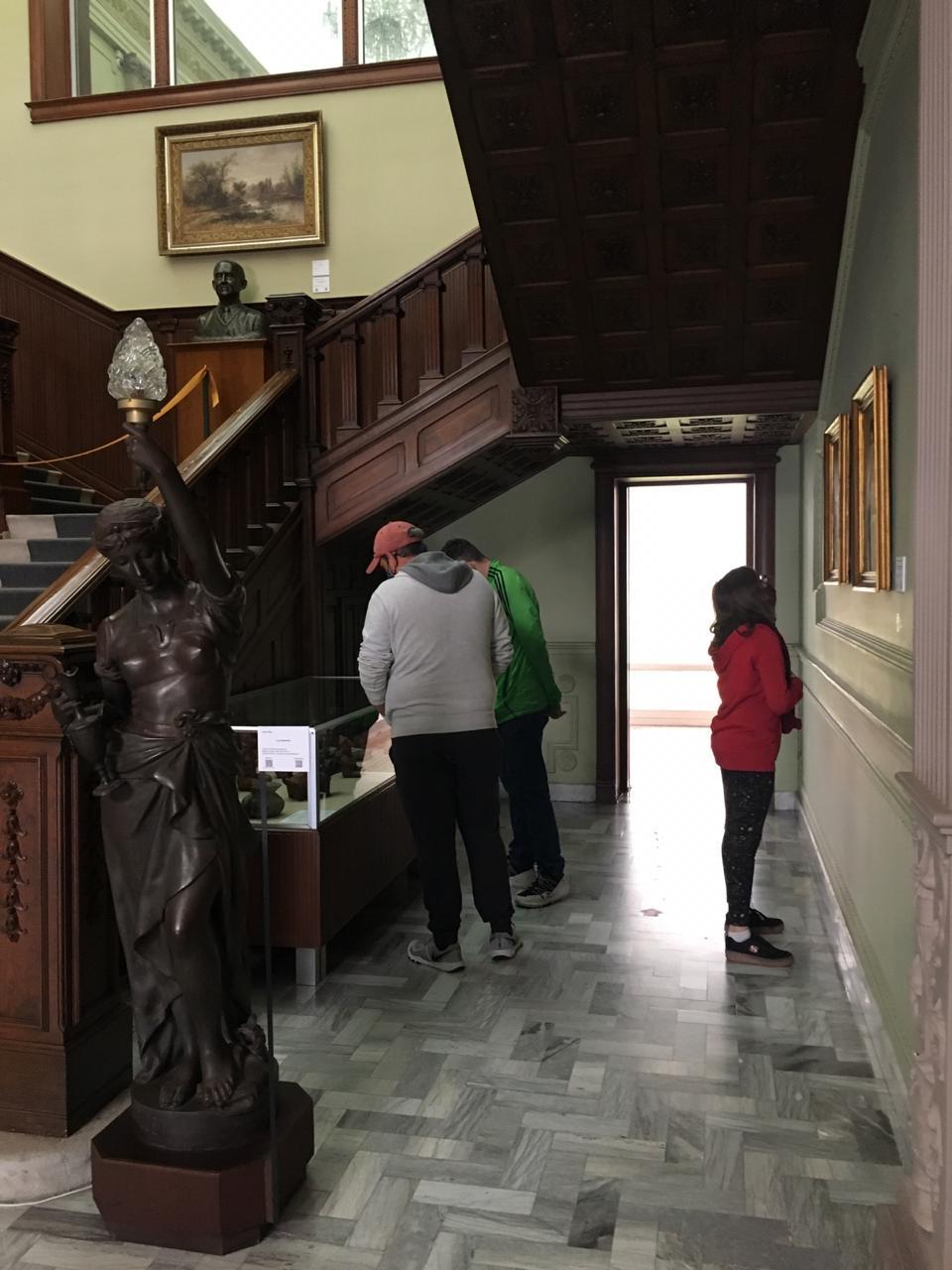 El Museo Francisco Cossío continúa recibiendo visitantes